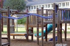 De speelplaats van Childrenâs Stock Afbeelding