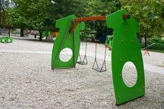 De speelplaats van het kind Stock Afbeeldingen