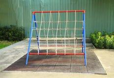 De speelplaats van kinderen Stock Afbeelding