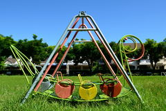 De speelplaats van kinderen Royalty-vrije Stock Afbeelding