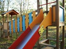 De speelplaats van kinderen Stock Afbeeldingen