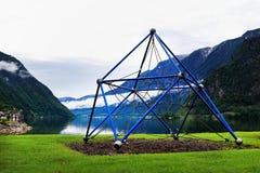 De speelplaats van natiekinderen op park Royalty-vrije Stock Fotografie