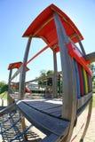 De speelplaatsdia van kinderen Royalty-vrije Stock Foto's