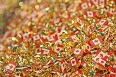 De spelden van Canada voor de Dag van Canada op 1 Juli Royalty-vrije Stock Afbeeldingen