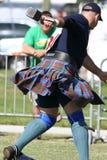 De Spelen 2008 van het Hoogland van Dunedin Stock Foto