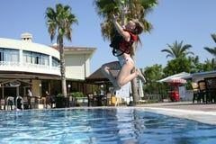De spelen van de pool Stock Fotografie