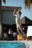 De spelen van de pool Royalty-vrije Stock Foto