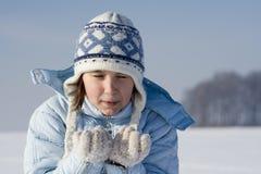 De spelen van de sneeuw Stock Fotografie