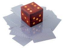 De spelen van het casino Stock Afbeeldingen