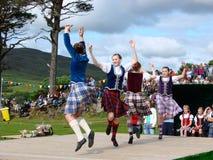 De Spelen van het hoogland: Dansers Royalty-vrije Stock Afbeelding