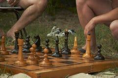 Strandspelen Royalty-vrije Stock Afbeeldingen