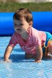 De spelen van het water Stock Foto