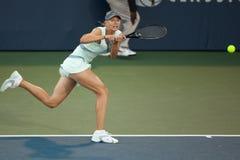 De spelen van Maria Sharapova bij de Reis WTA Stock Afbeelding