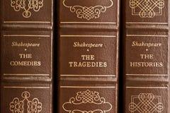 De spelen van Shakespeare Royalty-vrije Stock Foto