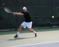 De Speler Andy Roddick van het tennis Stock Fotografie