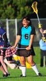 De speler die van de lacrosse van spel geniet Royalty-vrije Stock Afbeelding