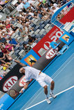 De speler Juan Monaco van het tennis Stock Fotografie