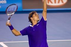 De speler Roger Federer van het tennis Royalty-vrije Stock Fotografie
