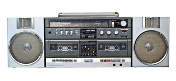 De speler van de cassetteband royalty-vrije stock fotografie