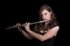 De Speler van de fluit #3 stock afbeeldingen