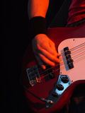 De speler van de gitaar Royalty-vrije Stock Fotografie