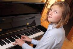 De speler van de piano Royalty-vrije Stock Afbeelding