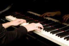 De speler van de piano Royalty-vrije Stock Foto