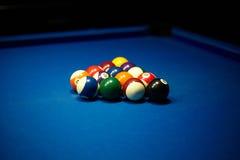 De speler van de snooker stock afbeelding