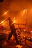 De speler van de synthesizer Royalty-vrije Stock Afbeeldingen