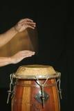 De speler van de trommel Stock Fotografie