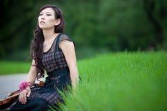 De speler van de viool Royalty-vrije Stock Foto