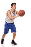 De Speler van het basketbal Stock Fotografie
