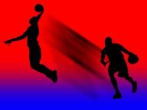 De Speler van het basketbal in Actie royalty-vrije illustratie