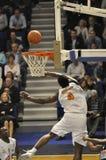 De speler van het basketbal het ontspruiten Royalty-vrije Stock Afbeeldingen