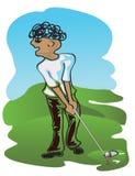 De speler van het golf Royalty-vrije Stock Afbeelding