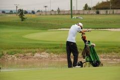 De speler van het golf Royalty-vrije Stock Foto