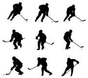 De speler van het hockey Royalty-vrije Stock Foto