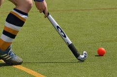 De speler van het hockey Stock Foto's