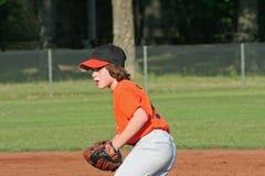 De speler van het honkbal Stock Foto's