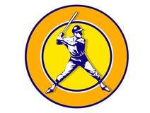 De speler van het honkbal Stock Afbeeldingen