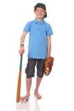 De speler van het honkbal Stock Afbeelding