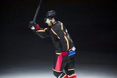 De speler van het ijshockey Royalty-vrije Stock Afbeeldingen