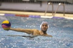 De speler van het Polo van het water Royalty-vrije Stock Foto