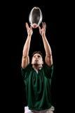 De Speler van het rugby royalty-vrije stock foto