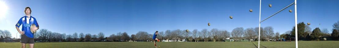 De speler van het rugby Stock Foto