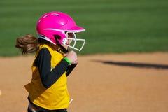 Lopen die van de Speler van het softball Verrast het Spel bekijken Royalty-vrije Stock Afbeeldingen