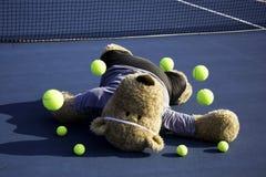 De Speler van het tennis Stock Foto's