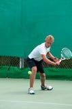 De Speler van het tennis Stock Foto