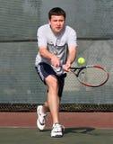 De speler van het tennis Stock Fotografie