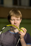 De speler van het tennis Royalty-vrije Stock Fotografie